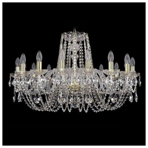 Люстра Bohemia Ivele Crystal 1402/16/300 G, 640 Вт bohemia ivele crystal 1402 1402 16 400 g 640 вт