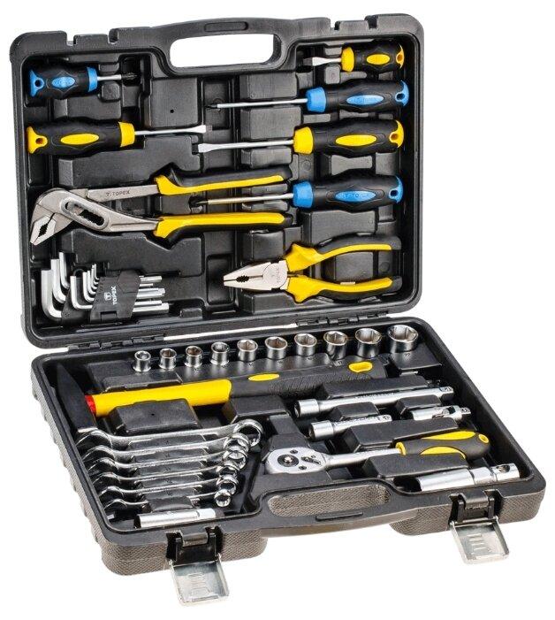 Набор инструментов TOPEX 38D225 (41 предм.) — купить по выгодной цене на Яндекс.Маркете