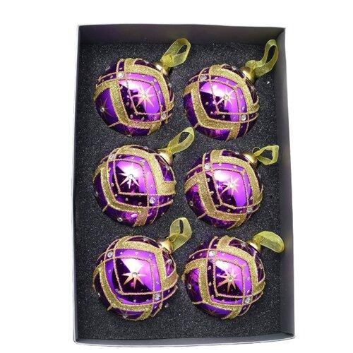 Набор шаров KARLSBACH 06827, фиолетовый