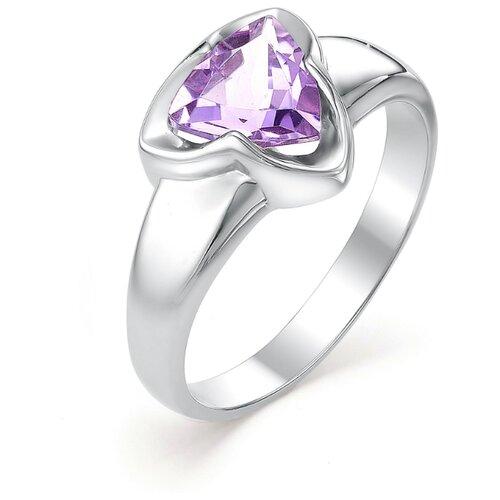 АЛЬКОР Кольцо с 1 аметистом из серебра 01-0373-00АМ-00, размер 17 алькор кольцо с 1 аметистом из серебра 01 0578 00ам 00 размер 17 5