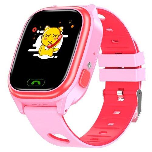 Часы детские Smart Baby Watch Y-85 розовые часы детские smart baby watch y 85 синие