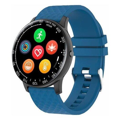 Умные часы BQ Watch 1.1 черный / синий