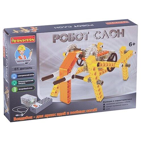 Электромеханический конструктор BONDIBON ВВ3492 Робот Слон