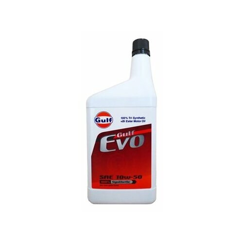 Моторное масло Gulf Evo 10W-50 1 л моторное масло gulf multi g 20w 50 1 л