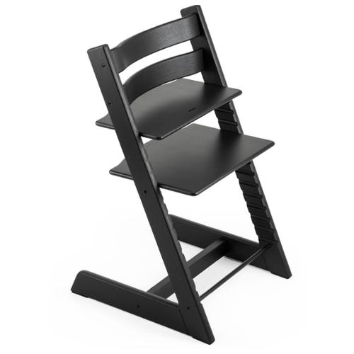 Купить Растущий стульчик Stokke Tripp Trapp из дуба черный дуб, Стульчики для кормления