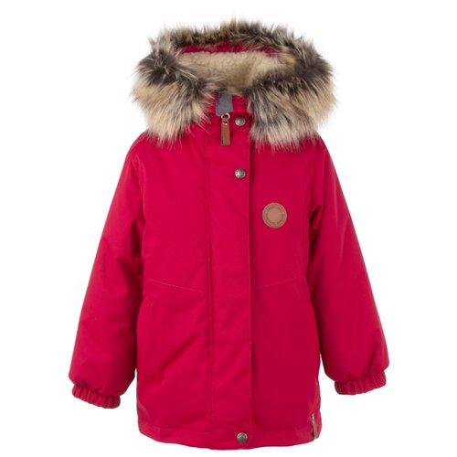 Купить Парка KERRY Marta K20435 размер 110, 0095 красный, Куртки и пуховики