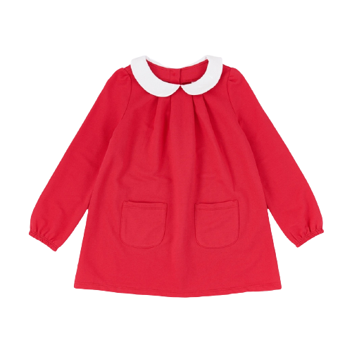 Платье Mini Maxi размер 116, красный платье oodji ultra цвет красный белый 14001071 13 46148 4512s размер xs 42 170