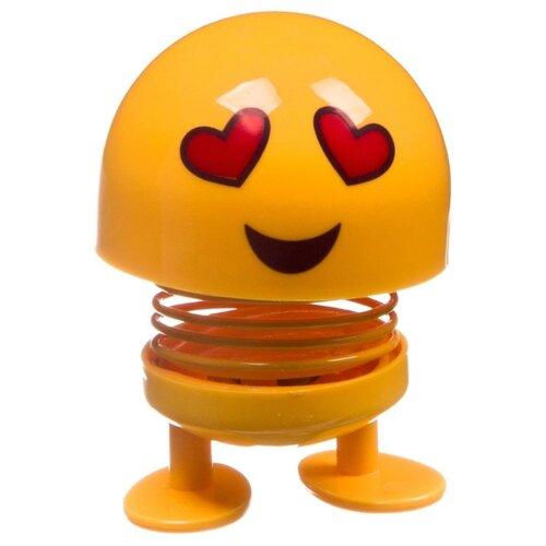 Купить Фигурка BONDIBON Чудики. Танцующий на пружинке Эмодзи-влюбленный ВВ4135, Игровые наборы и фигурки