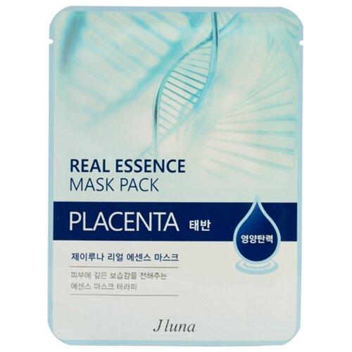 Фото - Маска тканевая Juno J luna Placenta с плацентой для лица, 25 мл маска тканевая juno j luna q10 для лица 3 шт 25 мл