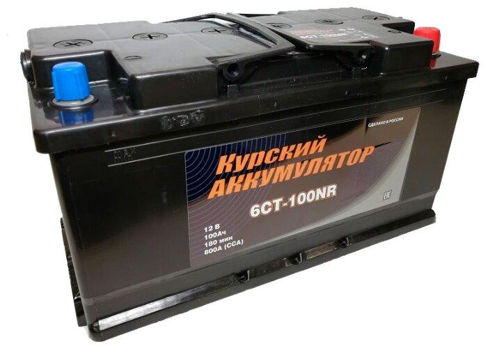 Аккумулятор для грузовиков Курские аккумуляторы 6CT-100NR