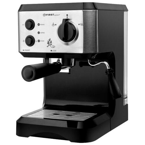 Кофеварка рожковая FIRST AUSTRIA 5476-1 черный/серебристый