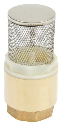 Обратный клапан пружинный CTM CBCVF муфтовый (ВР/НР), латунь