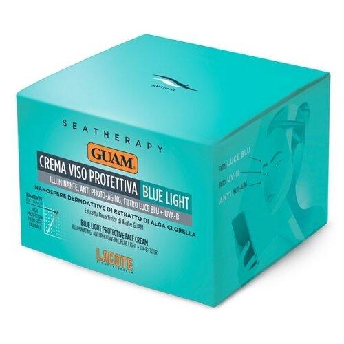 Купить Guam Seatherapy Crema Viso Protettiva Blue Light Крем для лица с защитным комплексом от синего излучения, 50 мл