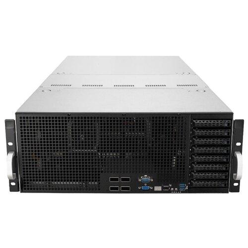 Сервер ASUS ESC8000 G4 без процессора/без ОЗУ/без накопителей/количество отсеков 2.5\