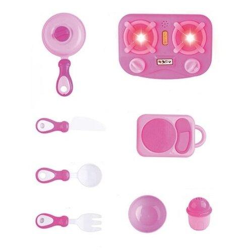 Купить Игровой набор Zhorya ZY1060968 розовый, Детские кухни и бытовая техника