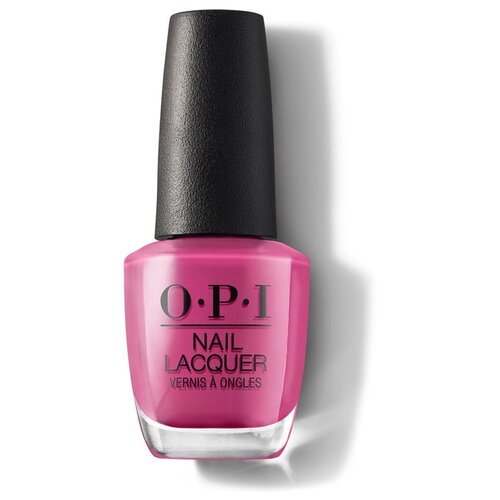 Лак OPI Nail Lacquer Lisbon, 15 мл, оттенок No Turning Back From Pink Street opi infinite shine nail lacquer from here to eternity 15 мл