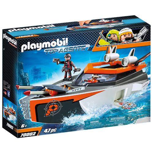 Купить Набор с элементами конструктора Playmobil Top Agents 70002 Шпионская команда, Конструкторы