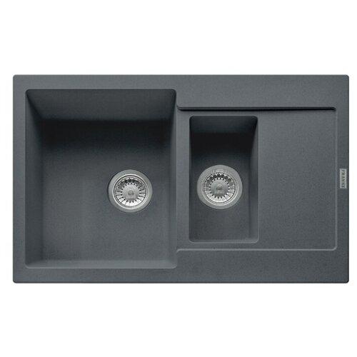 Врезная кухонная мойка 78 см FRANKE MRG 651-78 графит franke mrg 651 78 114 0198 351