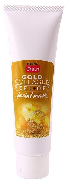 Banna Маска-пленка для лица с золотом и коллагеном