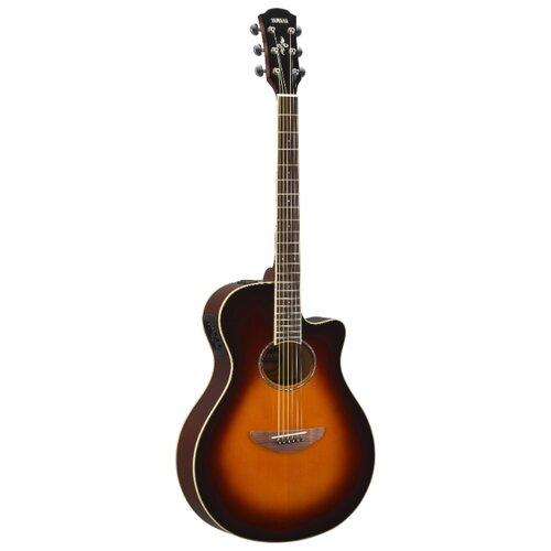 Электроакустическая гитара YAMAHA APX600 Old Violin Sunburs гитара электроакустическая yamaha apx600 old violin sunburst