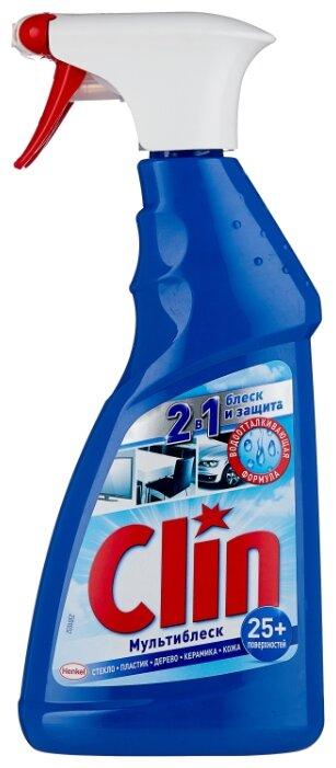 Спрей Clin Мультиблеск для мытья окон и стекол