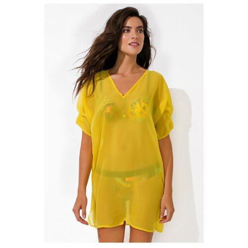 Пляжная туника Laete размер XL(50) желтый