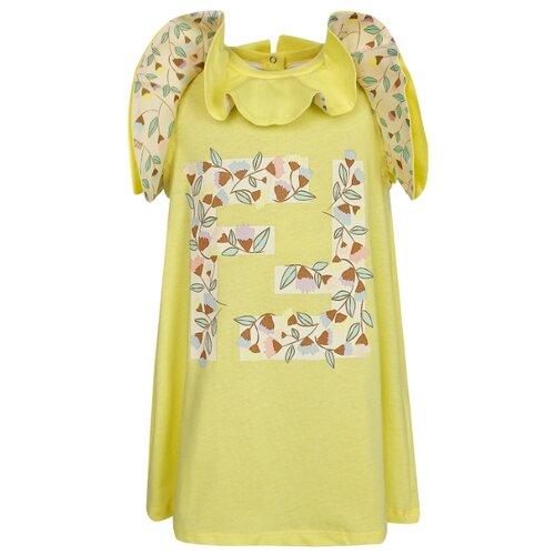Платье FENDI размер 80, желтый