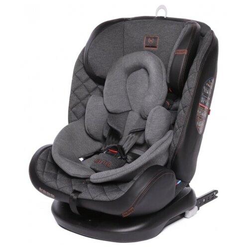 Автокресло группа 0/1/2/3 (до 36 кг) Baby Care Shelter Isofix, эко-черно-серый бамбук группа 1 2 от 9 до 25 кг baby care bc 120 isofix