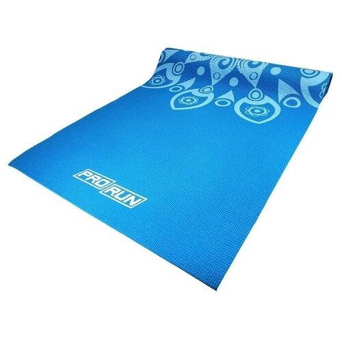 Коврик (ДхШхТ) 173х61х0.4 см ProRun 100-4868 голубой однотонный