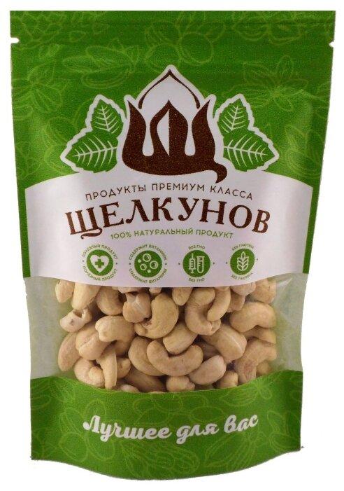 Кешью Щелкунов очищенный сушеный пластиковый пакет 120 г