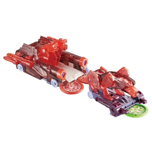 Купить Трансформер РОСМЭН Дикие Скричеры. Турбо-Скричер 2-в-1 Церберус (37761) красный, Роботы и трансформеры
