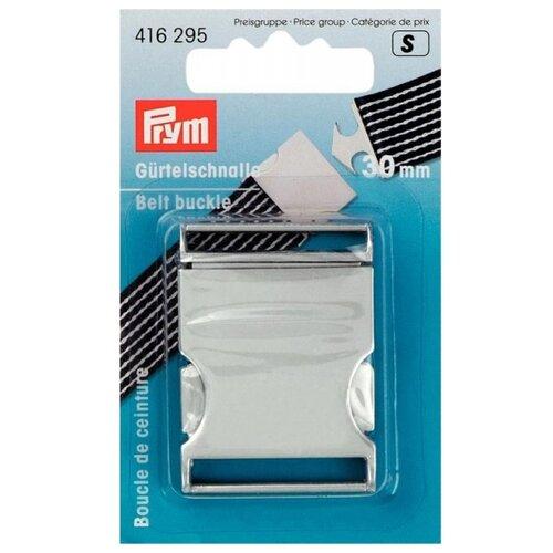 Купить Prym Пряжка для ремня, 30мм 416295, матовый серебристый, Фурнитура