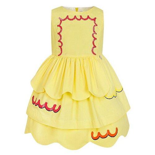 цена Платье Simonetta размер 98, желтый онлайн в 2017 году