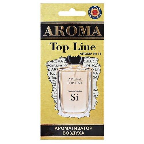 AROMA TOP LINE Ароматизатор для автомобиля Aroma №16 Armani Si 14 г