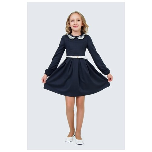 Купить Платье Ladetto размер 32-134, серый, Платья и сарафаны