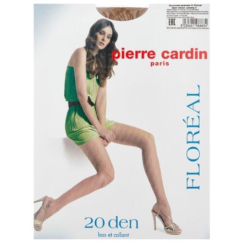 Колготки Pierre Cardin Floreal, Basic Line 20 den, размер II-S, visone (бежевый)
