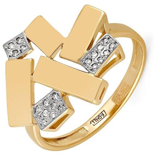 Фото - KABAROVSKY Кольцо с 20 бриллиантами из жёлтого золота 11-2926-1000, размер 18 kabarovsky кольцо с 1 бриллиантом из жёлтого золота 11 2999 1000 размер 18