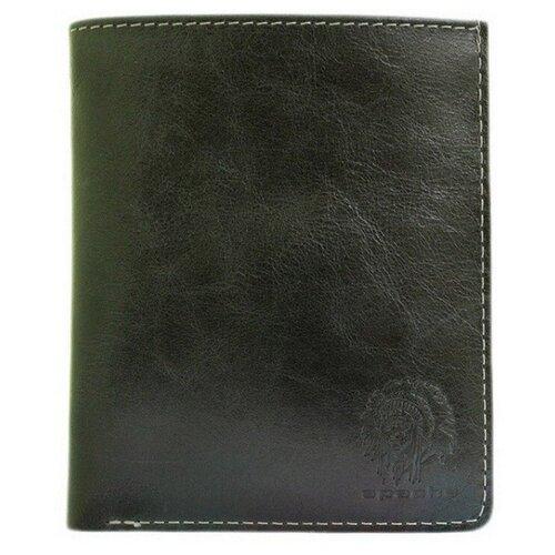 Фото - Портмоне Apache ВП-А, черный портмоне кожаное для документов и денег вп а табачно желтое apache