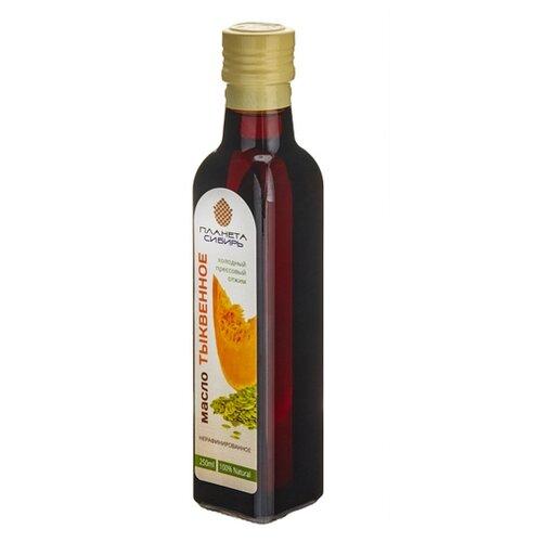 Планета Сибирь масло тыквенное, 0.25 л