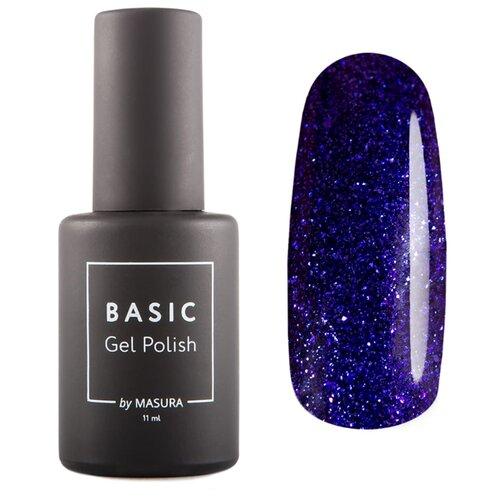 Купить Гель-лак для ногтей Masura Basic, 11 мл, Сверкающий Кит