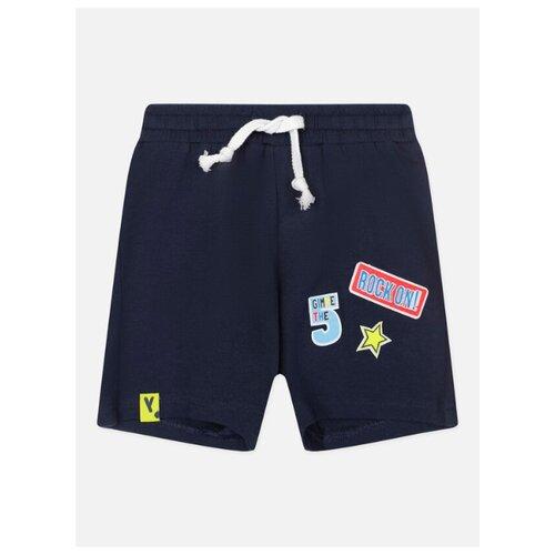 Шорты playToday Color Fantasy Baby Boys 120313012 размер 74, темно-синий, Брюки и шорты  - купить со скидкой