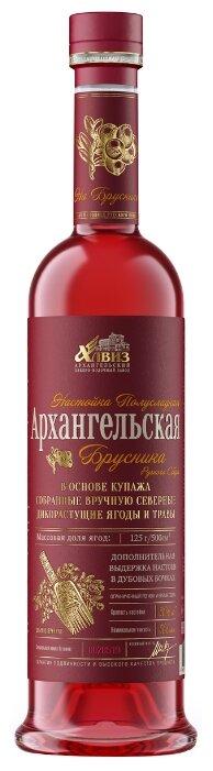 Настойка Архангельская Брусника, 0,5 л