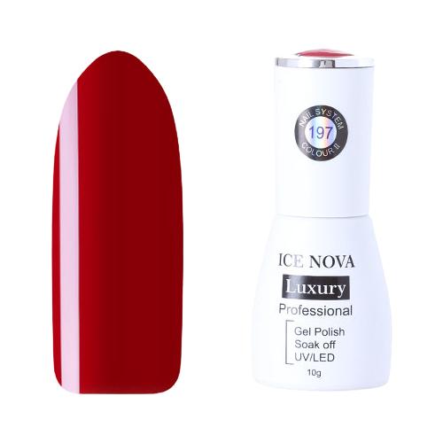 Купить Гель-лак для ногтей ICE NOVA Luxury Professional, 10 мл, 197