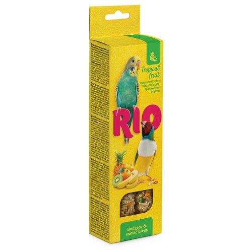 Лакомство для птиц RIO с тропическими фруктами 99774R 80 г