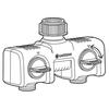 Распределитель 2-х канальный (8193-20) GARDENA