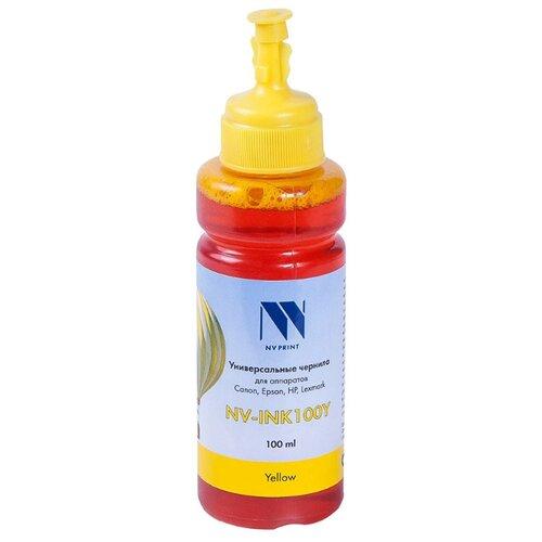 Чернила NV-INK100U Yellow универсальные на водной основе для аппаратов Сanon/Epson/НР/Lexmark