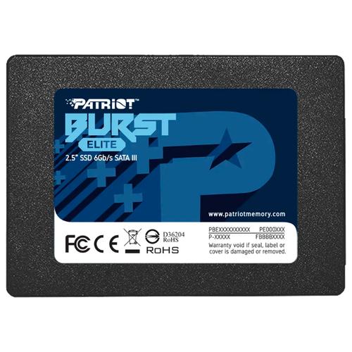 Твердотельный накопитель Patriot Memory Burst Elite 960 GB PBE960GS25SSDR
