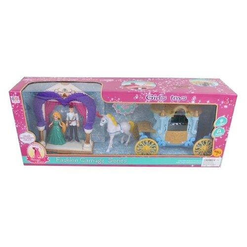 Игровой набор China Bright Pacific Карета с лошадкой, 1689764 набор доктора china bright pacific 1744823
