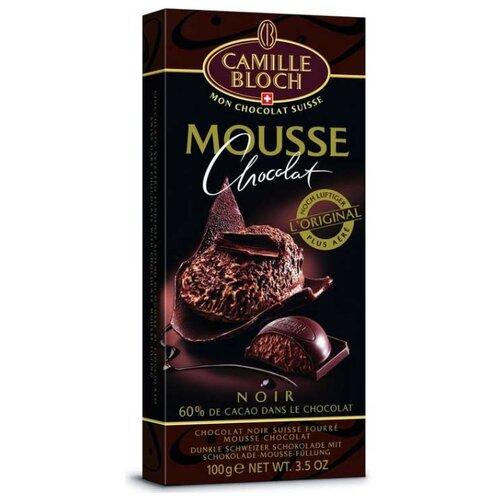 Шоколад Camille Bloch горький с начинкой из шоколадного мусса, 100 г camille ducray henri rochefort 1831 1913