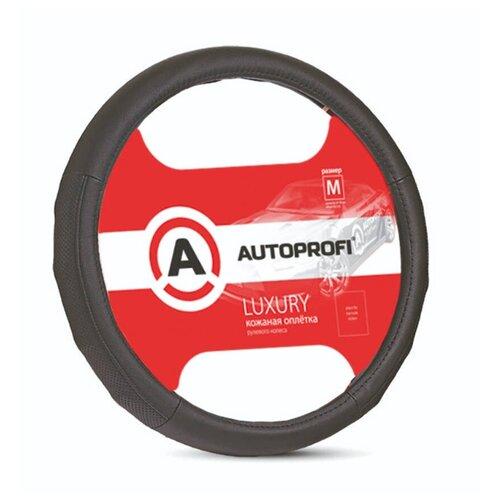 Оплётка на руль AP-1030 BK/BK (M) Autoprofi AP-1030 BK/BK (M)